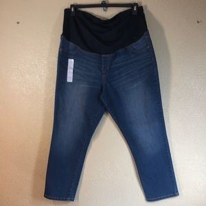 Isabel Maternity Jeans Pants Blue NWT Size 18